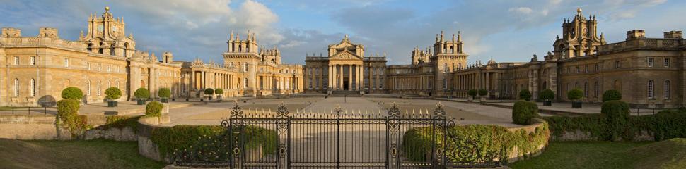 Blenheim palace north face