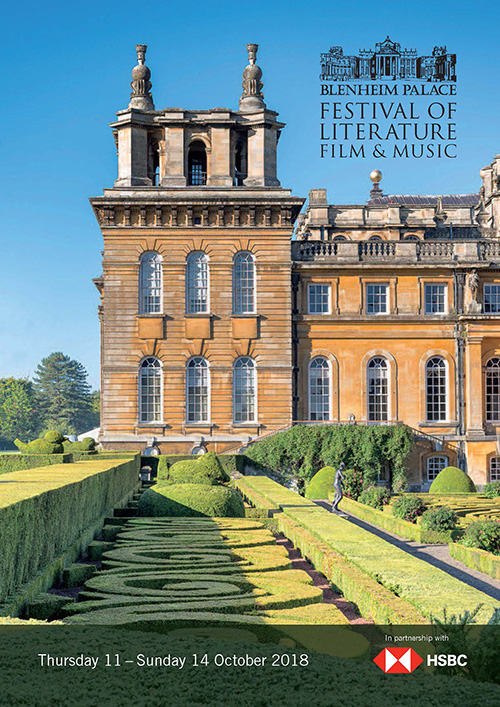 Blenheim Palace Festival of Literature, Film and Music 2018 brochure