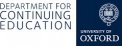 Department for Continuing Education University of Oxford
