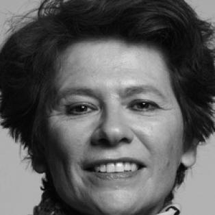 Author / Speaker holding image - Judith Mackrell