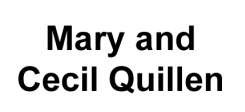 Mary and Cecil Quillen